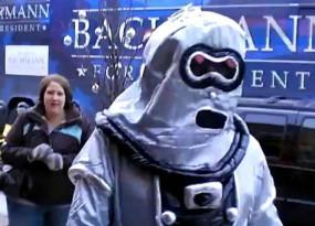 Michelle Bachmann Vs Robot